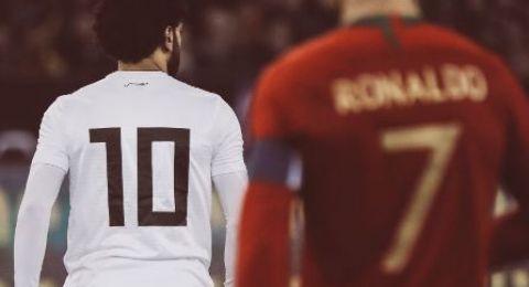 رونالدو يريد إنهاء مسيرته الكروية إلى جانب محمد صلاح